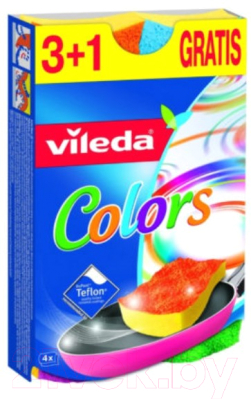 Набор губок для мытья посуды Vileda 90670 / 149470