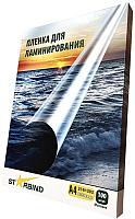 Пленка для ламинирования Starbind 216x303 100мкм / PL216303M100 (100шт, матовая) -
