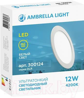 Точечный светильник Ambrella DLR 12W 4200K 185-250V
