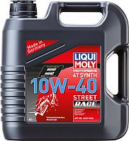 Моторное масло Liqui Moly Motorbike 4T Synth Street Race 10W40 / 20754 (4л) -