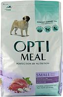 Корм для собак Optimeal Small с уткой (12кг) -