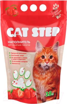 Наполнитель для туалета Cat Step Клубника / 20363006