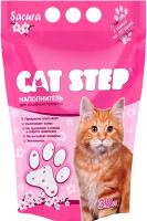 Наполнитель для туалета Cat Step Crystal Sacura (3.8л) -