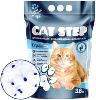 Наполнитель для туалета Cat Step Силикагелевый / 20363007 (3.8л) -