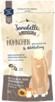 Лакомство для кошек Bosch Petfood Sanabelle Crispy pads. Chicken & Milk (55г) -