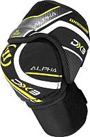 Налокотники хоккейные Warrior Alpha DX3 SR Elbow Pads / DX3EPSR9-S (черный) -