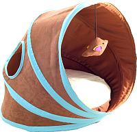 Лежанка для животных Triol Туннель CT49 / 31931058 (коричневый) -