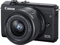 Беззеркальный фотоаппарат Canon EOS M200 EF-M IS STM Kit 15-45mm / 3699C010 (черный) -