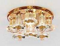 Точечный светильник Ambrella D1045 BR/CL (коричневый/прозрачный) -