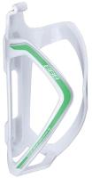 Держатель для фляги велосипедный BBB FlexCage / BBC-36 (белый/зеленый) -