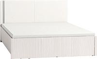 Полуторная кровать Глазов Berlin 55 Люкс с ПМ 140x200 (бодега светлый) -