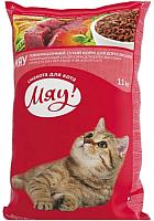 Корм для кошек Мяу! С индейкой и садовой травой (11кг) -