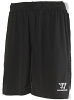 Шорты хоккейные Warrior DYN Knitted Short Yth / WSSJ409P-BK-LB (черный) -