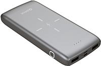 Портативное зарядное устройство Platinet 11000mAh / PMPB10QIB (+QI зарядка) -