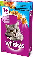 Корм для кошек Whiskas Вкусные подушечки с нежным паштетом с лососем (350г) -