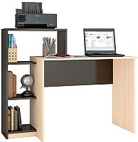 Письменный стол Тэкс Квартет-2 (венге/дуб молочный) -