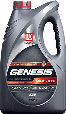 Моторное масло Лукойл Genesis Armortech FD 5W30 / 3149878 (4л)