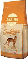 Корм для кошек Araton Cat Adult Outdoor / ART45643 (15кг) -