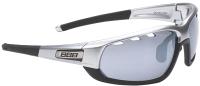Очки солнцезащитные BBB Adapt Matte Special Edition / BSG-45SE (Chrome/Silver Lenses) -