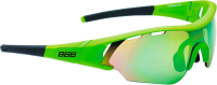 Очки солнцезащитные BBB Summit Smoke PC MLC / BSG-50 (черный/Green Lenses) -