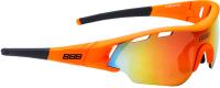 Очки солнцезащитные BBB Summit Smoke PC MLC / BSG-50 (черный/Orange Lenses) -