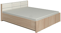 Полуторная кровать Глазов Вена 3.2 с ПМ 140x200 (дуб сонома) -