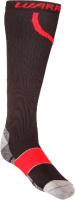 Чулки компрессионные Warrior Compression Pro Sock / HSCOMP6 BRD (M, черный/красный) -