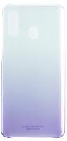 Чехол-накладка Samsung Gradation Cover для Galaxy A40 / EF-AA405CVEGRU (фиолетовый) -
