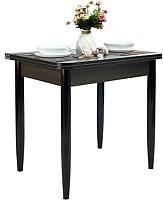 Обеденный стол Рамзес Ломберный ЛДСП 60x80 (венге/ноги конусные венге) -