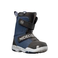 Ботинки для сноуборда Nidecker Micron mini (р.10+11C, Black) -