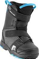 Ботинки для сноуборда Nidecker Micron mini (р.11+12C, Black) -