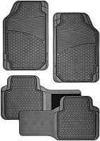 Комплект ковриков для авто Autoprofi FIX-515 BK (4шт) -