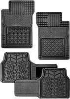 Комплект ковриков для авто Autoprofi FIX-520 BK (4шт) -