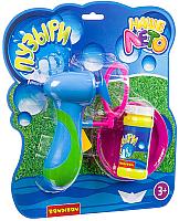 Набор мыльных пузырей Bondibon Наше Лето. Пистолет для мыльных пузырей / ВВ2791 -