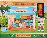 Игровой набор Играем вместе Мишка в супермаркете / B1601688-R -