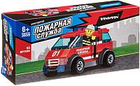 Конструктор Bondibon Пожарная Служба. Машина / ВВ3659 -