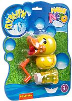 Набор мыльных пузырей Bondibon Наше Лето. Пистолет для мыльных пузырей. Утенок / ВВ2780 -