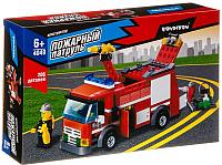 Конструктор Bondibon Пожарная служба. Пожарная машина / ВВ4049 -