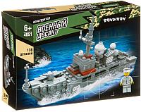 Конструктор Bondibon Военный десант. Корабль / ВВ4051 -