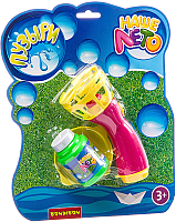 Набор мыльных пузырей Bondibon Наше Лето. Пистолет для мыльных пузырей / ВВ2785 -