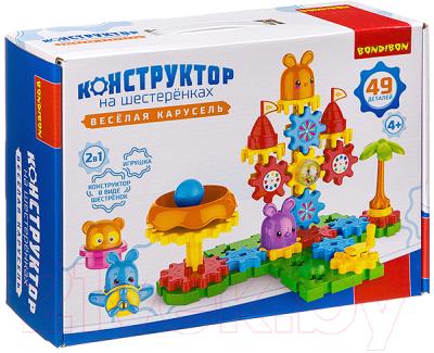 Конструктор Bondibon Веселая карусель / ВВ3299