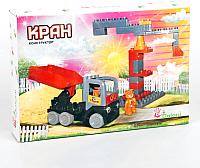 Конструктор Doloni Кран / 13888/18 -