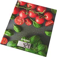 Кухонные весы Centek CT-2462 (черри) -