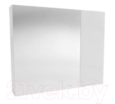 Шкаф с зеркалом для ванной АВН Латтэ 80 / 41.19 (1)