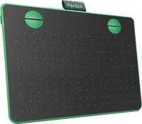 Графический планшет Parblo A640 (черный/зеленый) -