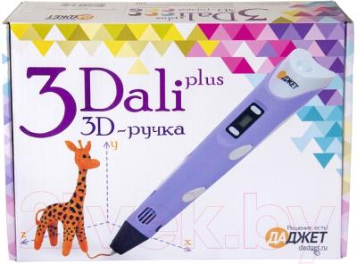3D ручка Даджет 3Dali Plus (фиолетовый)