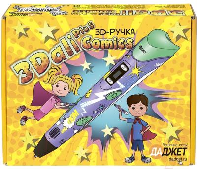 3D ручка Даджет 3Dali Plus (comics)