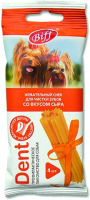 Лакомство для собак TiTBiT Dent Жевательный снек со вкусом сыра (1шт) -