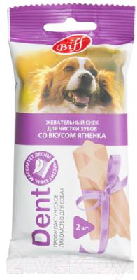Лакомство для собак, 5 шт. TiTBiT Dent Жевательный снек со вкусом ягненка недорого