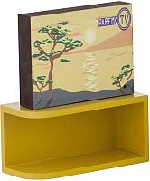 Комплект аксессуаров для кукольного домика Paremo Телевизор с тумбой / PDA417-07 -